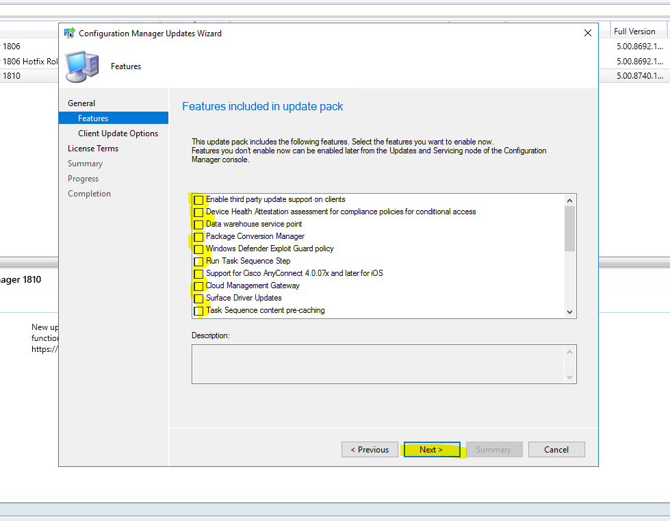 SCCM 1802/1806 Upgrade to 1810 – Zee's IT Tips and Tricks